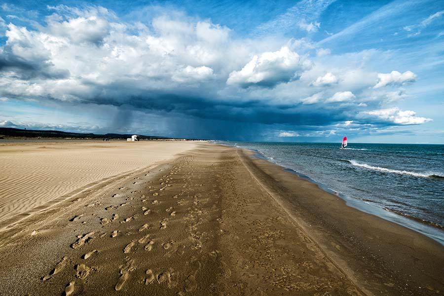 Gruissan et ses plages